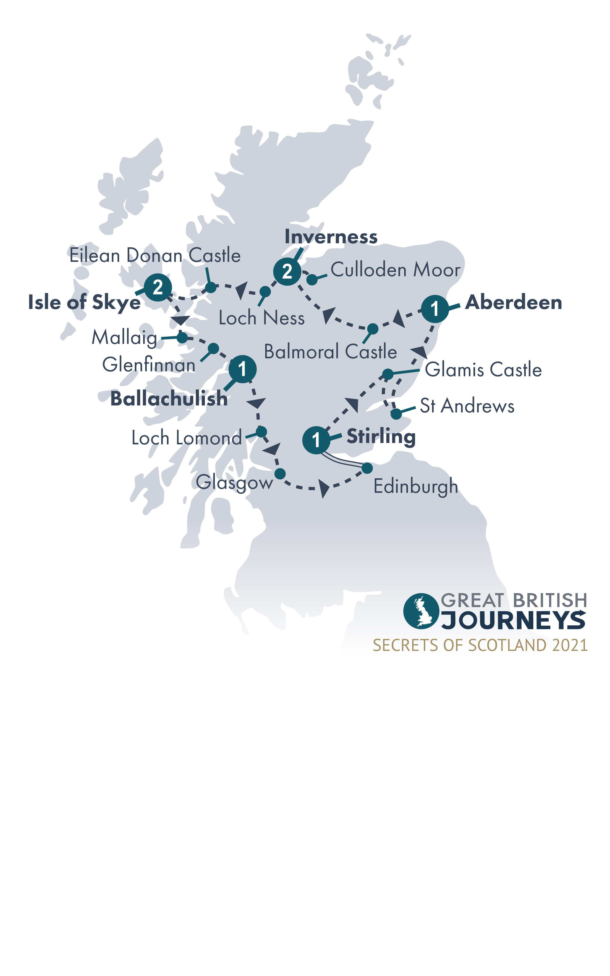 Map - Secrets of Scotland 2021
