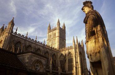 Bath Abbey, Bath, Somerset, England