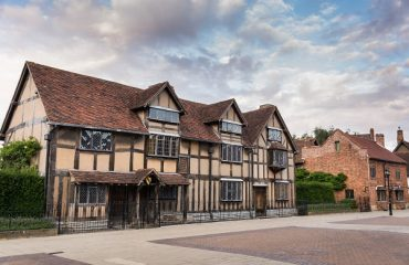 Shakespeare's House, Stratford-upon-Avon, England