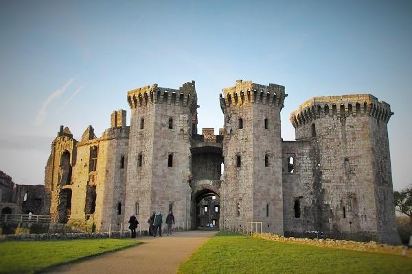 Wales Castle Tour - Raglan