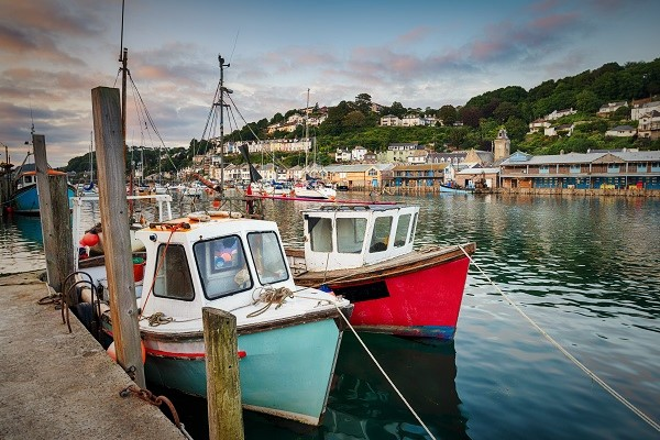 Cornwall Tours - Looe Harbour
