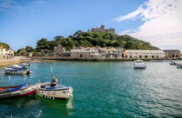 St Michael's Mount Harbour, Marazion, Cornwall, England
