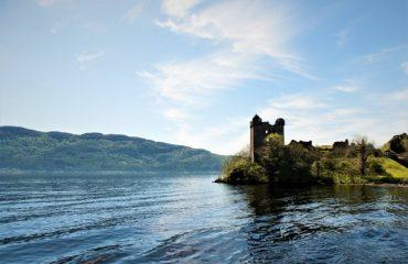Urquhart Castle by Loch Ness, Scotland